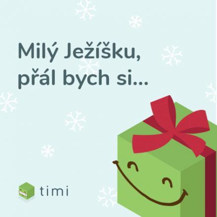 Vánoční starosti přehoďte na Timiho